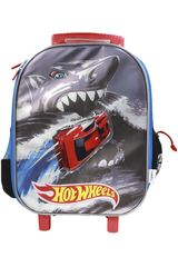 Mochila con ruedas de Niño Hot Wheels maleta con ruedas hot wheels Negro