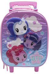 Mochila con ruedas de Niña My Little Pony Rosado maleta con ruedas my little pony