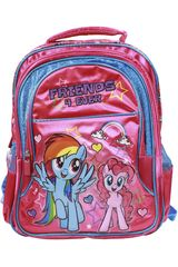 My Little Pony Fucsia / celeste de Niña modelo mochila my little pony Mochilas