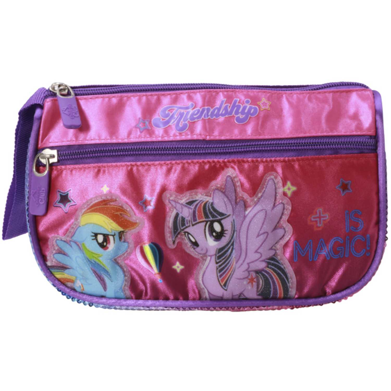 Cartuchera de Niña My Little Pony Fucsia / celeste cartuchera my little pony