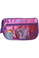 My Little Pony Fucsia / celeste de Mujer modelo cartuchera my little pony Cartucheras