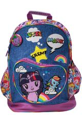 My Little Pony Azul / morado de Niña modelo mochila my little pony Mochilas