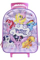My Little Pony Rosado de Mujer modelo maleta con ruedas my little pony Maletínes Mochilas