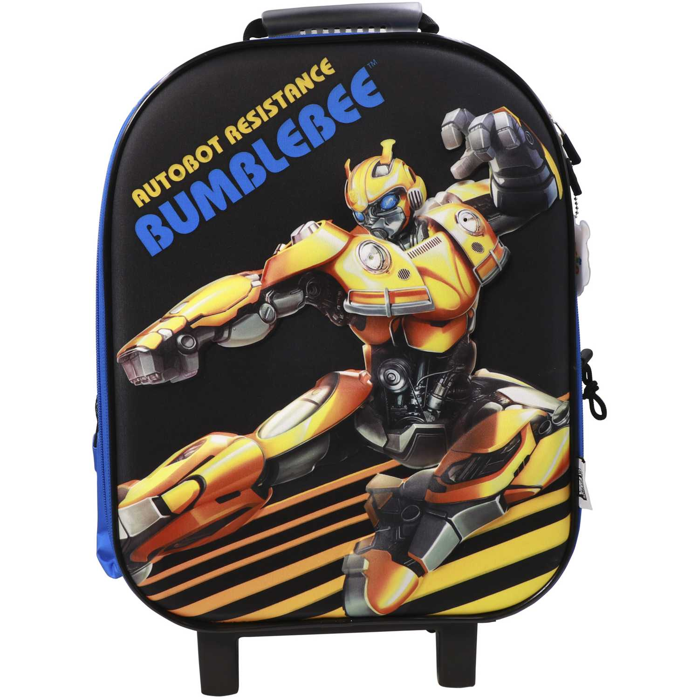 Mochila con ruedas de Niño Transformers Azul / amarillo maleta con ruedas transformers