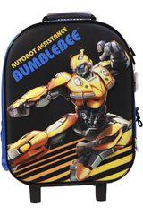 Transformers Azul / amarillo de Mujer modelo maleta con ruedas transformers Maletínes Mochilas