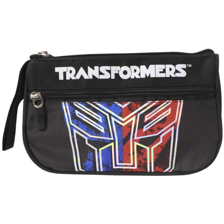 Cartuchera de Niño Transformers Negro cartuchera transformers