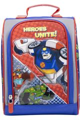 Lonchera de Niño Transformers Rojo / azul lonchera trf rescue bots