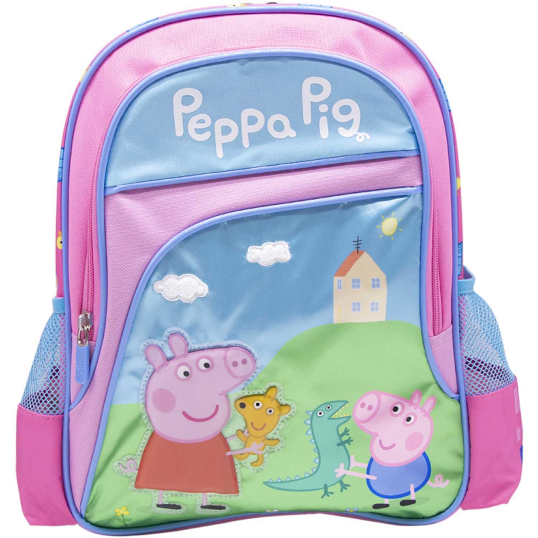 Mochila de Niña Peppa Pig Rosado / celeste mochila peppa pig