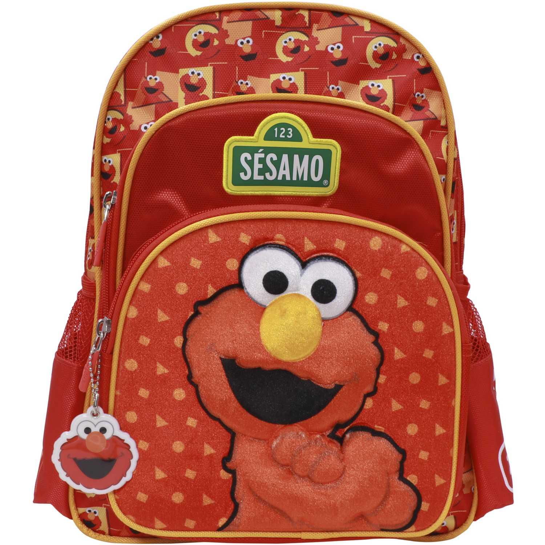 Mochila de Niño Sesamo Rojo mochila sesamo