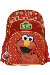 Sesamo Rojo de Niña modelo mochila sesamo Mochilas