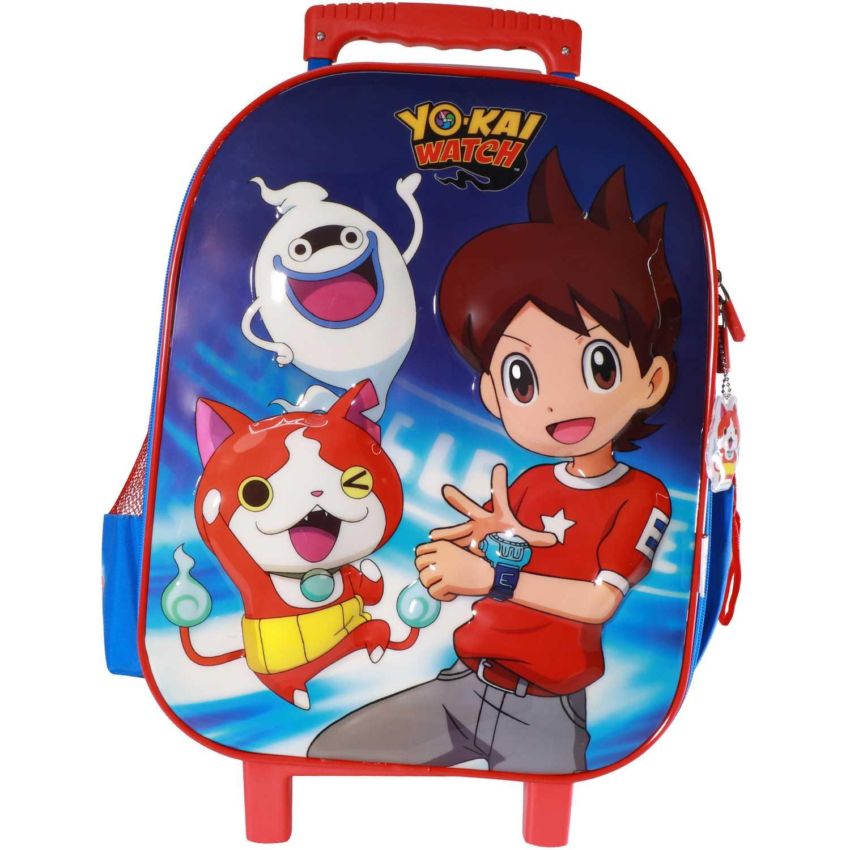 Mochila con ruedas de Niño Yokai Watch Azul maleta con ruedas yokai watch - 6d