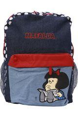 Mafalda Azul / rojo de Niña modelo mochila mafalda Mochilas