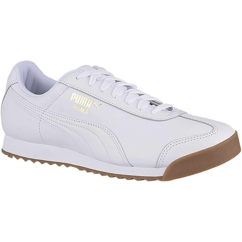 Zapatilla de Hombre Puma Blanco roma classic gum