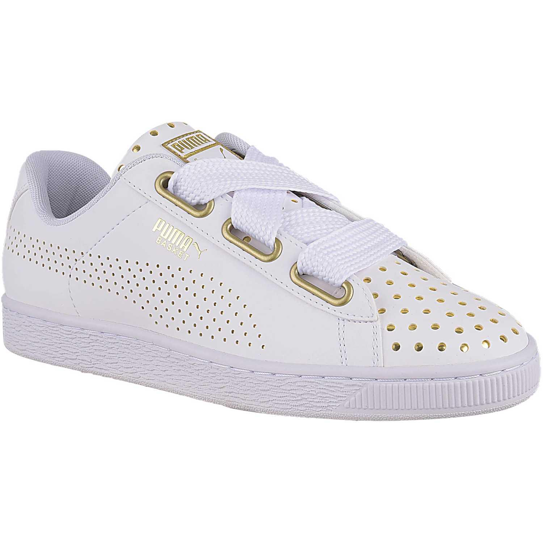 Zapatilla de Mujer Puma Blanco basket heart ath lux wn s ... 03c38a5508d