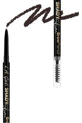 L.a. Girl Blackest Brown de Mujer modelo delineador de cejas shady slim brow pencil Delineadores