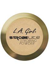 L.a. Girl 100 Watt de Mujer modelo polvo iluminador strobe lite powder Polvo compacto