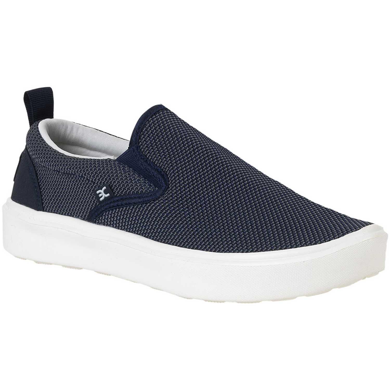 Calzado de Hombre Hey Dude Navy / Blanco flip