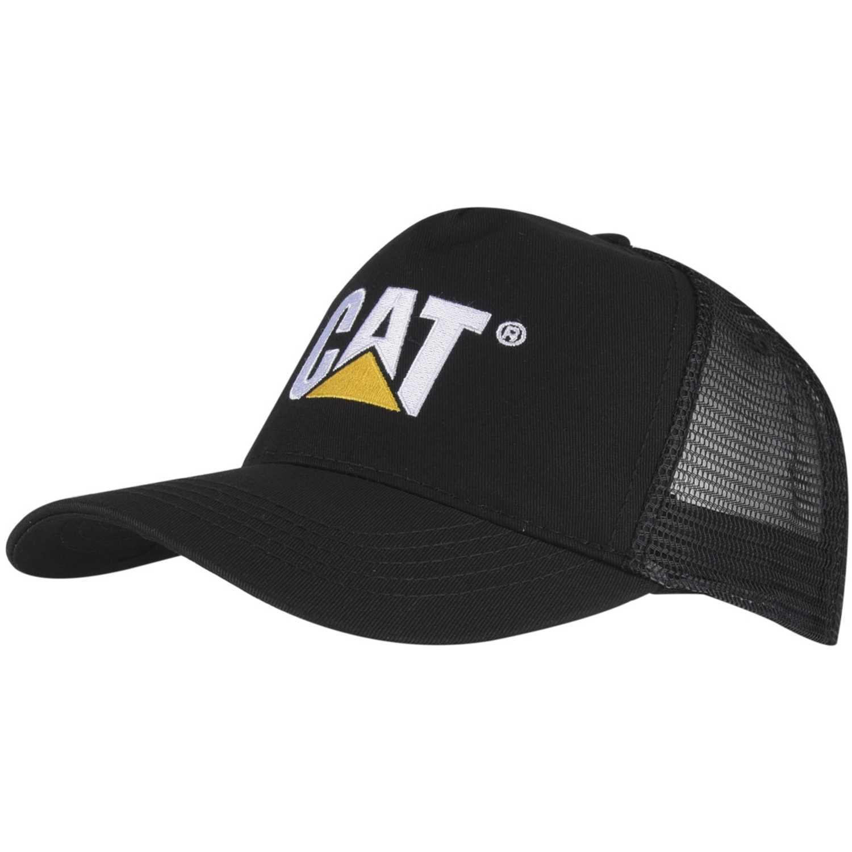 Gorro de Hombre CAT Negro design mark mesh hat  f60b4311141
