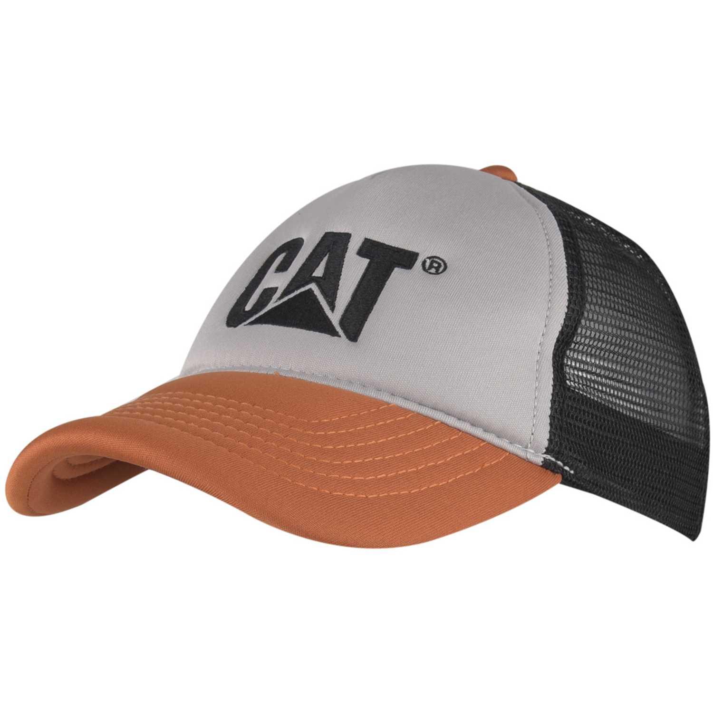 Gorro de Hombre CAT Plomo / naranja contrast cat hat