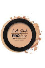 L.a. Girl Powder Buff de Mujer modelo polvo compacto pro. face pressed powder Maquillaje rostro Polvo compacto