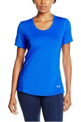 Under Armour Azul de Mujer modelo UA HG COOLSWITCH SS Polos Deportivo