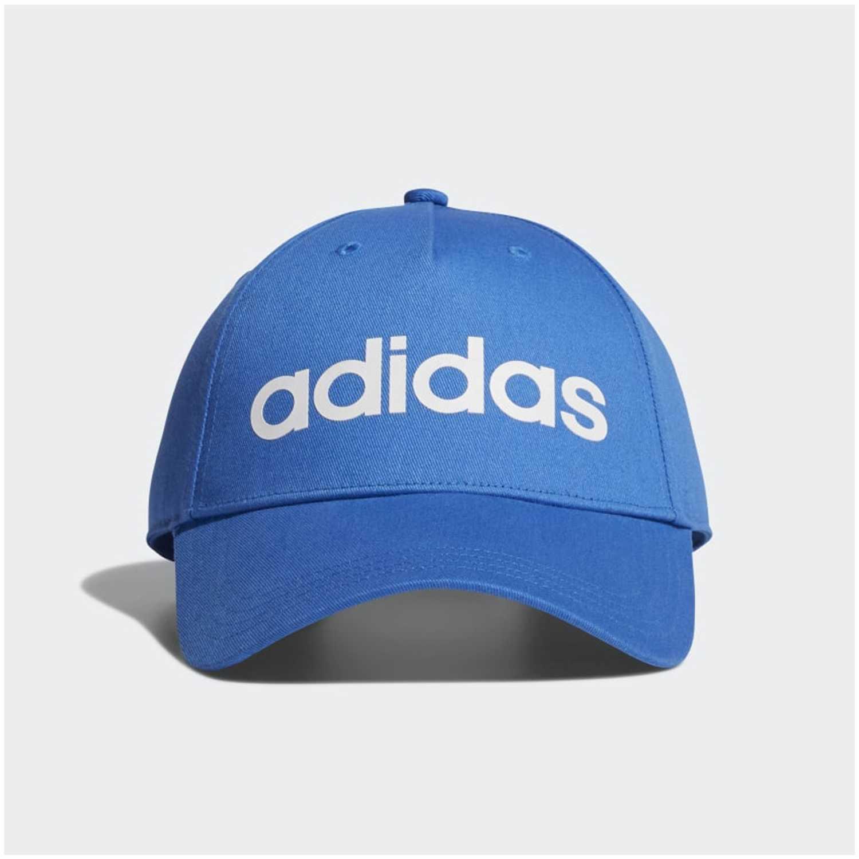 Gorro de Mujer Adidas Azul   blanco daily cap  809a7dd2072