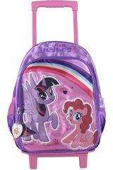 My Little Pony Lila de Niña modelo mochila con ruedas 2 en 1  my little pony Mochilas