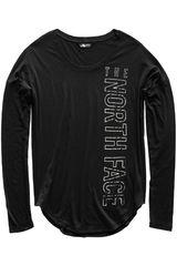 The North Face Negro de Hombre modelo w tnf graphic l/s Casual Poleras