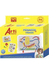Arti Creativo Varios de Niña modelo ac mosaicos magicos pegs x 320pza Juegos