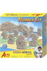 Arti Creativo Arena de Niña modelo ac arena magica number elf Juegos