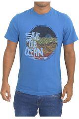 Dunkelvolk Azul de Hombre modelo ocean Casual Polos