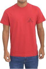 Dunkelvolk Rojo de Hombre modelo pain Polos Casual