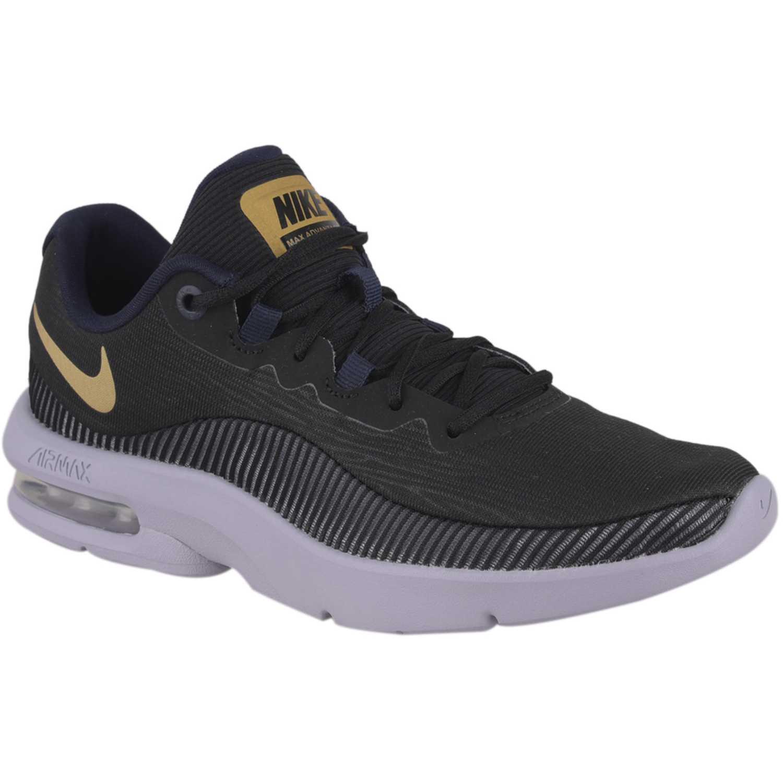 Zapatilla de Mujer Nike Negro / amarillo wmns nike air max advantage 2