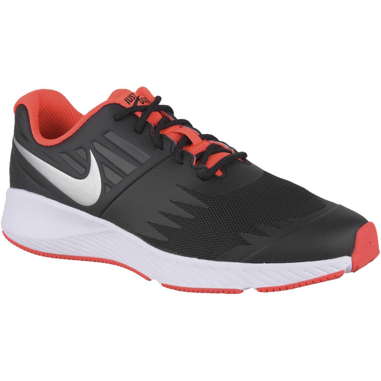 Zapatilla de Jovencito Nike Negro / rojo nike star runner jdi bg