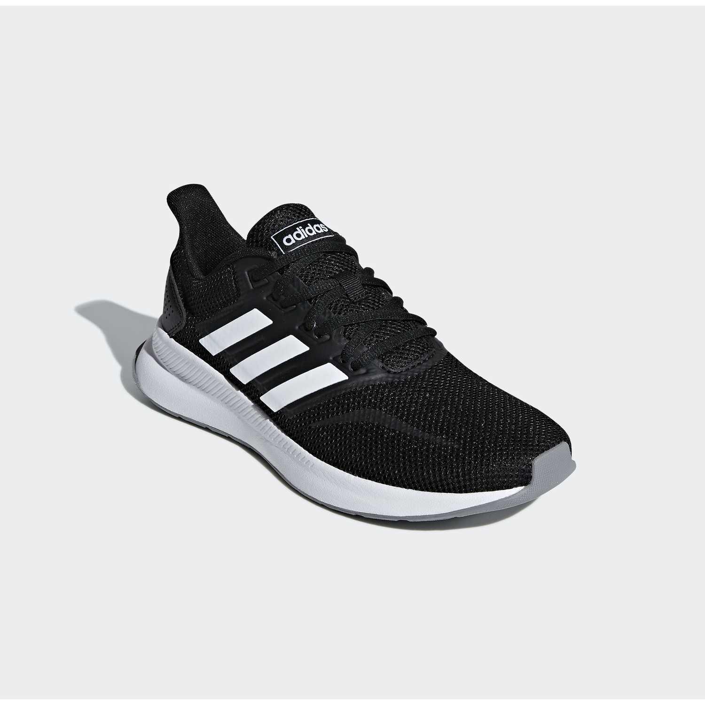 800828eef6d2b Zapatilla de Mujer Adidas Negro   blanco runfalcon