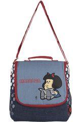 Lonchera de Niña Mafalda Azul / rojo lonchera mafalda
