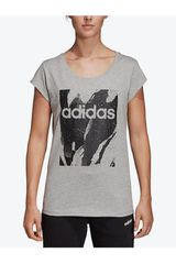 Adidas Blanco / negro de Mujer modelo w e aop tee Deportivo Polos