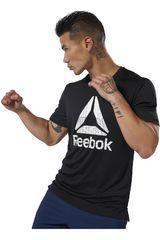 Reebok Negro / blanco de Hombre modelo wor graphic tech tee Polos Deportivo