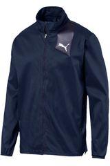Puma Azul de Hombre modelo ignite jacket Casacas Deportivo