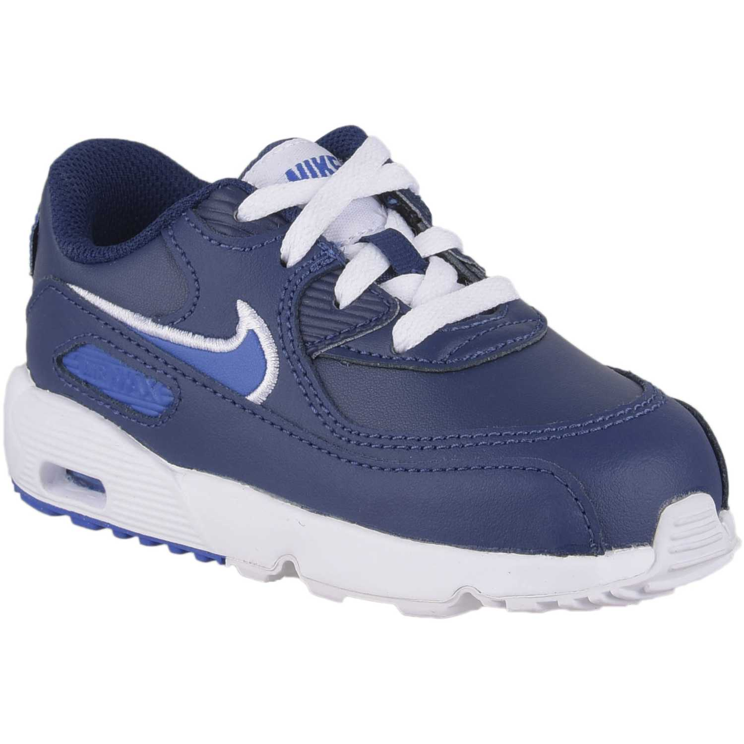 Zapatilla de Niño Nike Navy / Blanco air max 90 ltr bt