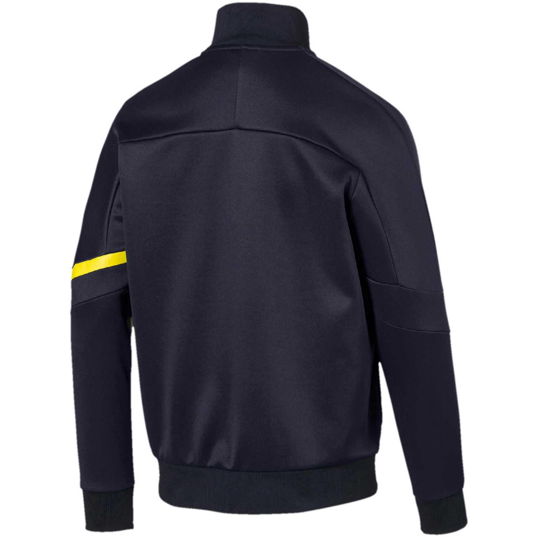 Casaca de Hombre Puma Azul / amarillo rbr t7 track jacket
