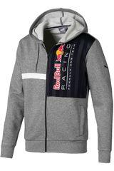 Casaca de Hombre Puma Gris / azul rbr logo hooded sweat jacket