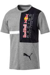 Puma Gris / azul de Hombre modelo rbr logo tee + Deportivo Polos