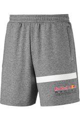 Puma Gris / blanco de Hombre modelo rbr logo sweat shorts Deportivo Shorts