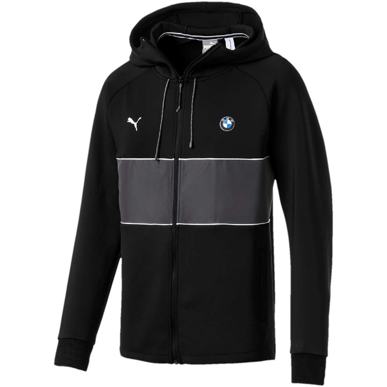 Casaca de Hombre Puma Negro / blanco bmw mms life sweat jacket