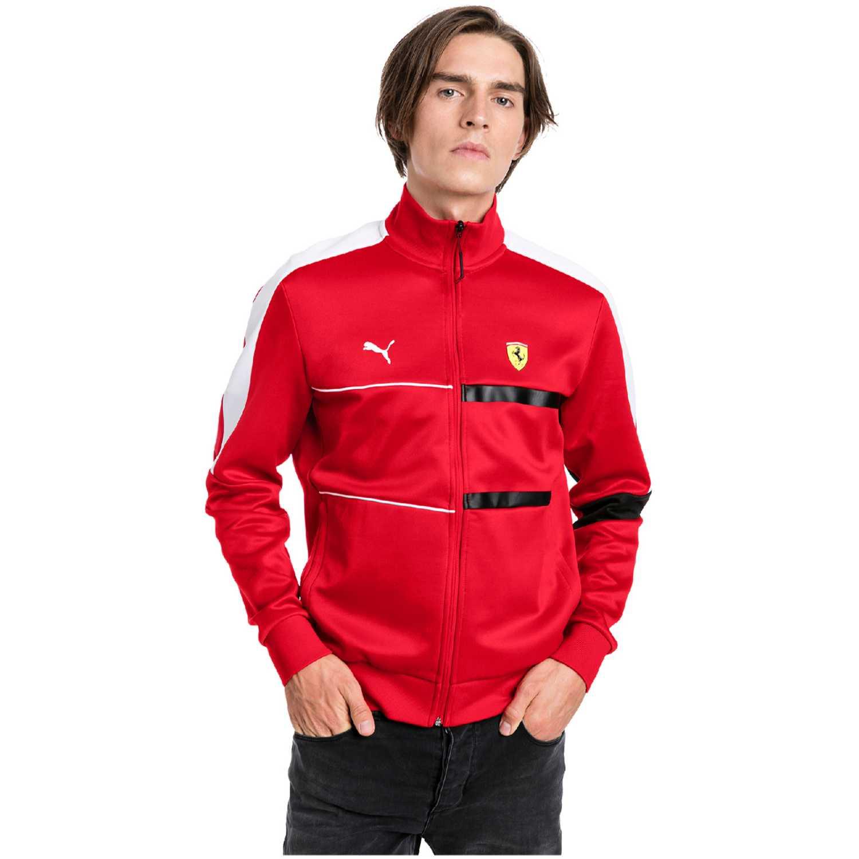 Casaca de Hombre Puma Rojo / blanco sf t7 track jacket