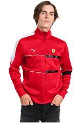 Puma Rojo / blanco de Hombre modelo sf t7 track jacket Deportivo Casacas