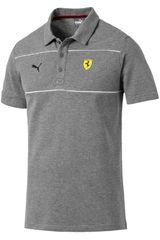Puma Gris / amarillo de Hombre modelo sf polo Deportivo Polos