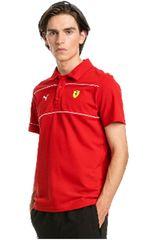 Puma Rojo / amarillo de Hombre modelo sf polo Deportivo Polos