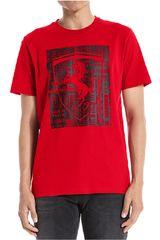 Puma Rojo / negro de Hombre modelo ferrari big shield tee Polos Deportivo